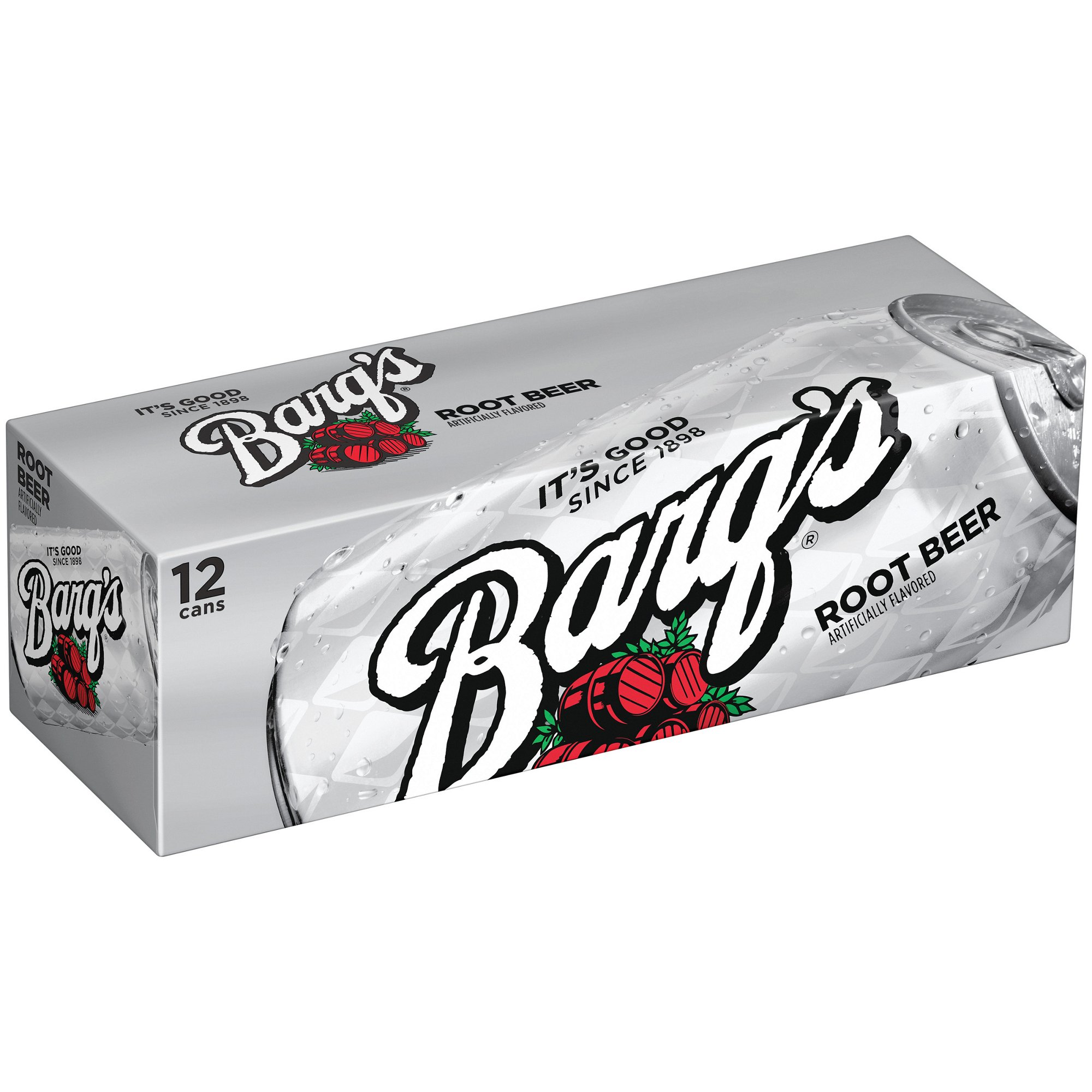 Barg's Root Beer Can 12pk