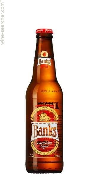 Banks Lager Bottle Case
