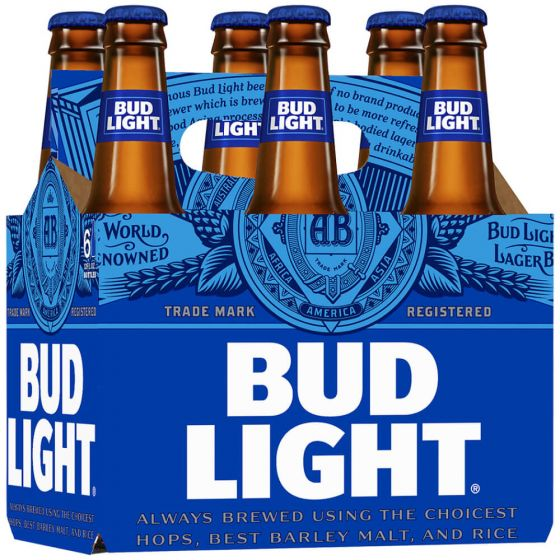 Bud Light Bottle 6PK