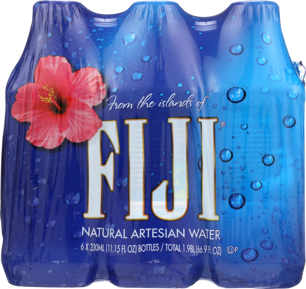 Fiji Artesian Water 6PK 330ML