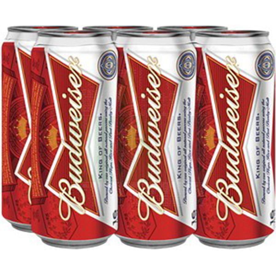 Budweiser Can 6pk