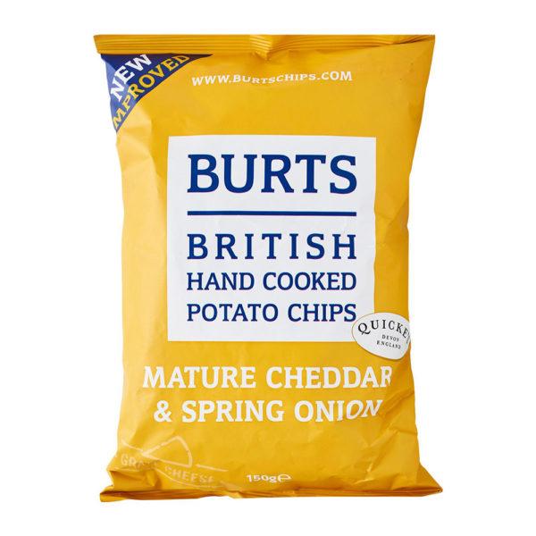 Burts Chips Mature Cheddar & Spring Onion150g