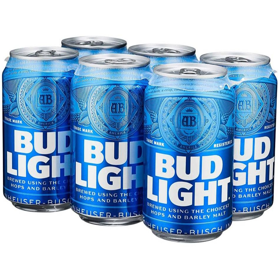 Bud Light Can 6PK