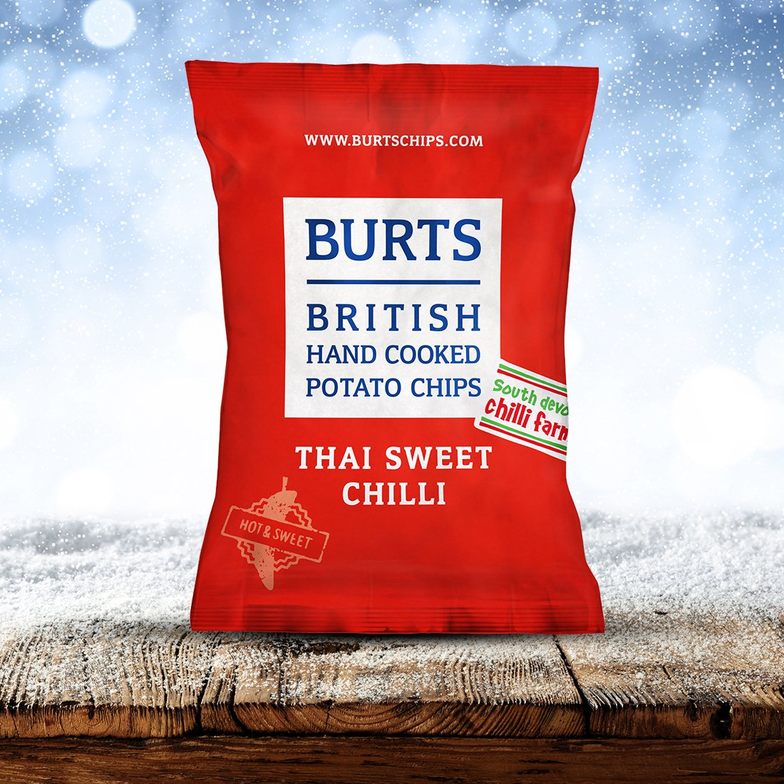 Burts Chips Thai Sweet Chilli 40g