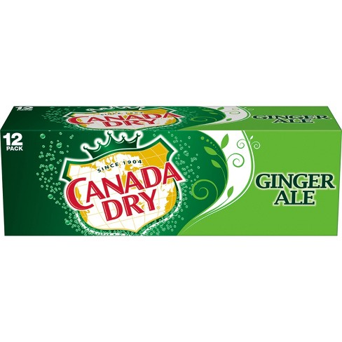 Canada Dry Ginger Ale 12PK
