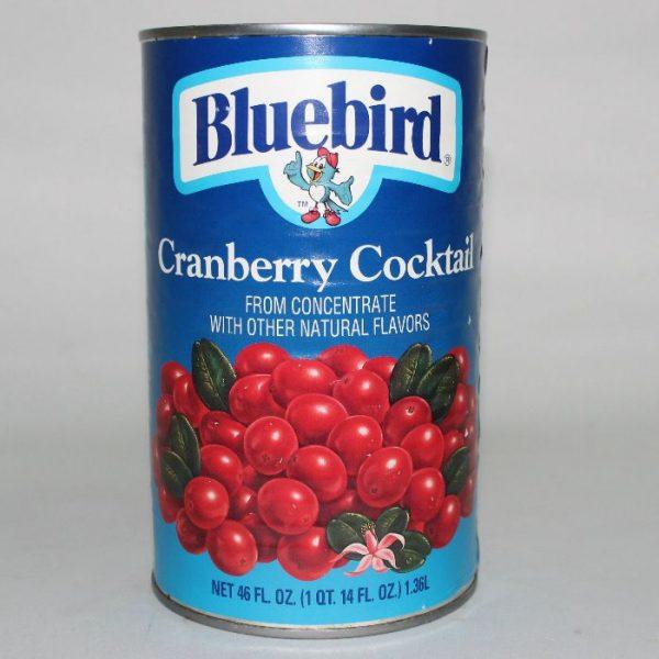 Bluebird Cranberry Cocktail 1QT