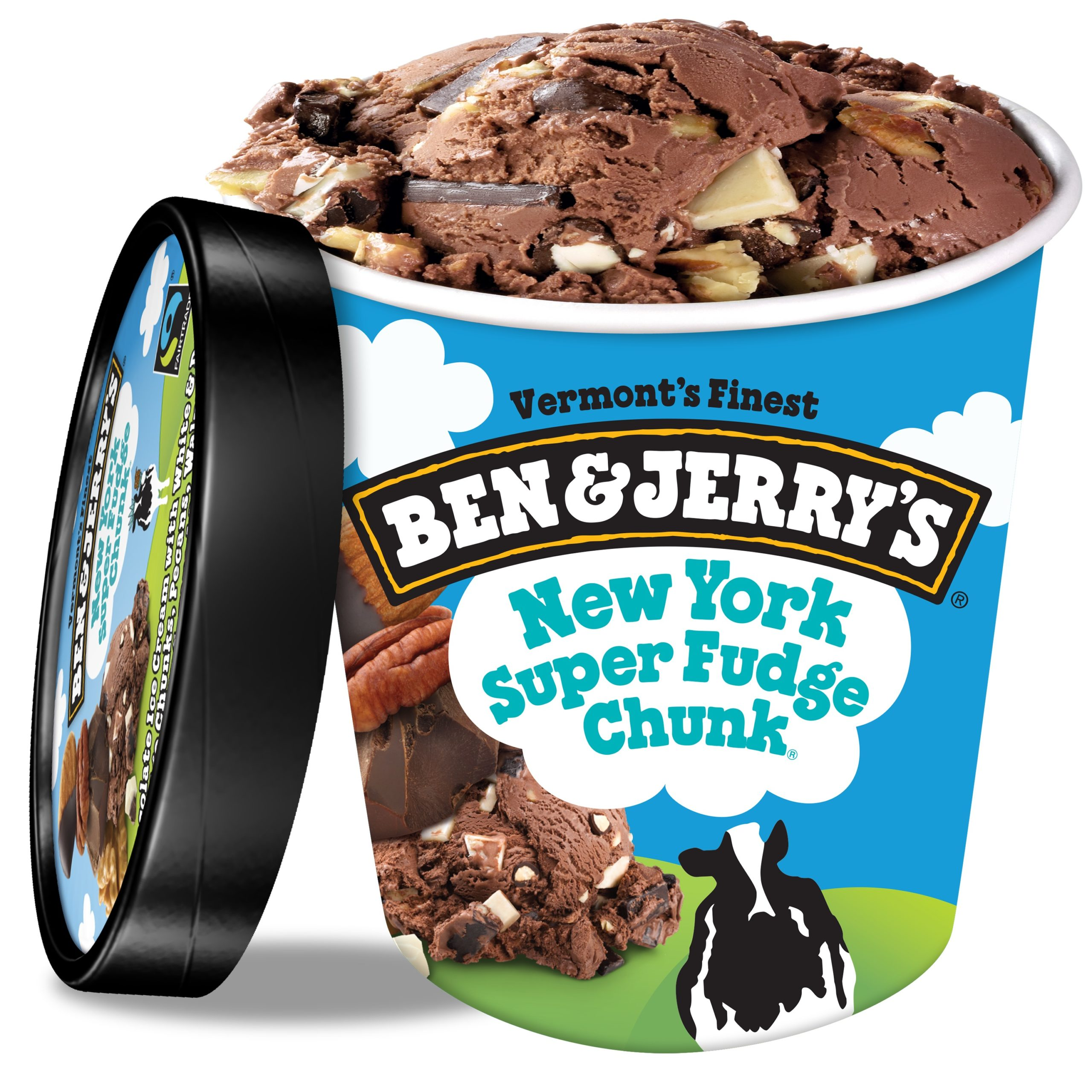 Ben & Jerry Super Fudge Ice Cream 1PT