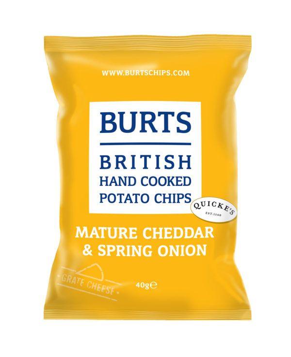 Burts Chips Mature Cheddar & Spring Onion 40g