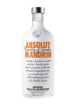 Absolut Vodka Mandrin 750ML