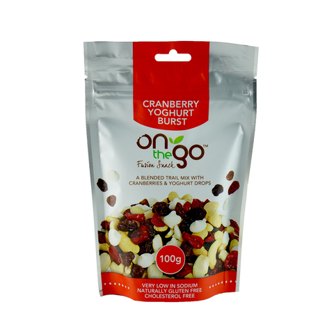 On The Go – Cranberry 225g