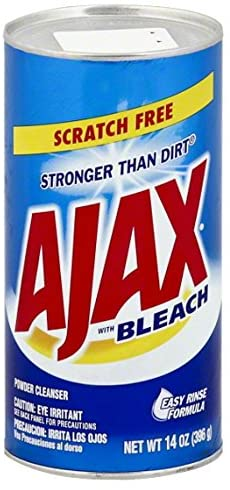 Ajax With Bleach 14 oz