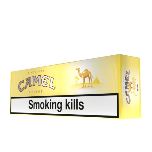 Camel Yellow Cigarette Carton