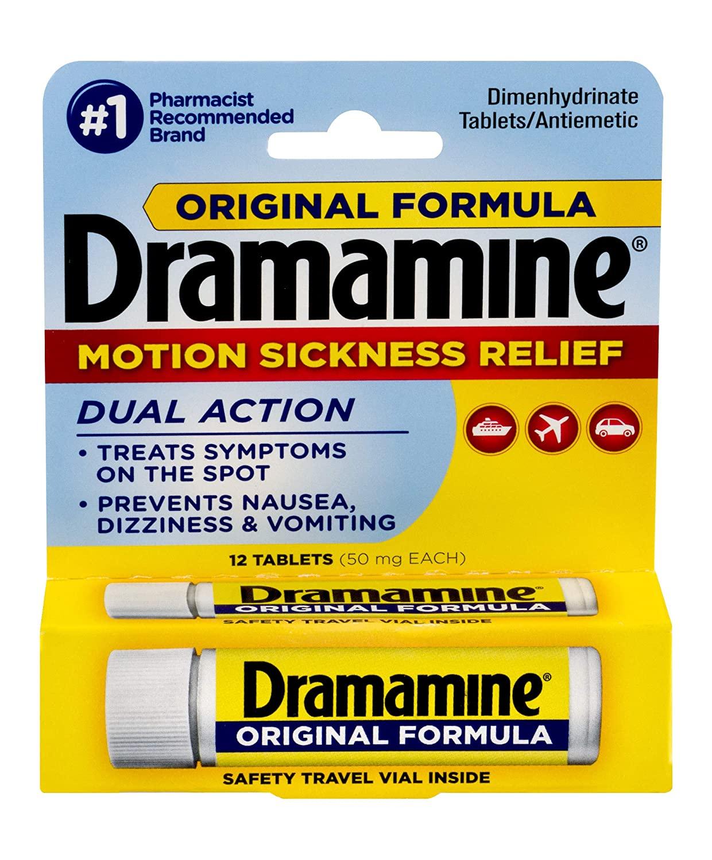 Dramamine Sickness Relief