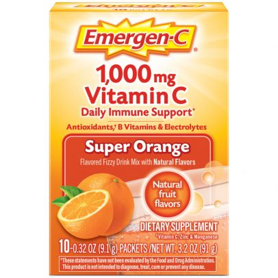 Emergen-C Super Orange .64oz