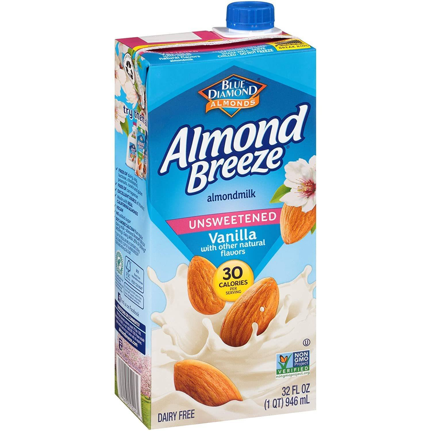 Almond Breeze Vaniila