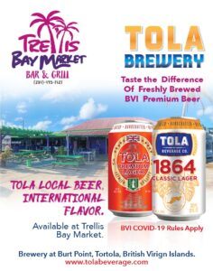 tola brewery hanging with friends trellis bay market bar and grill tortola bvi