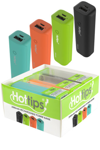 Hot tips Power Bank